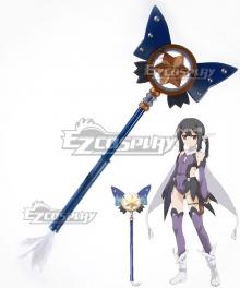 Fate Kaleid Liner Prisma Illya Miyu Edelfelt Magical Sapphire Staves Cosplay Weapon Prop