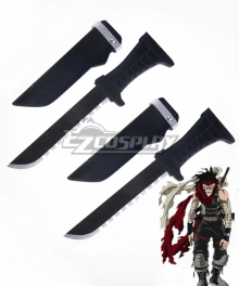 My Hero Academia Boku no Hero Akademia Chizome Akaguro Hero Killer Stain Two Daggers Cosplay Weapon Prop