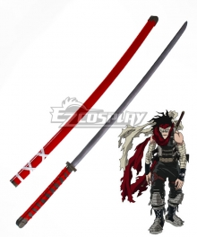 My Hero Academia Boku no Hero Akademia Chizome Akaguro Hero Killer Stain Sword Scabbard Cosplay Weapon Prop