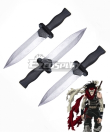 My Hero Academia Boku no Hero Akademia Chizome Akaguro Hero Killer Stain Three Daggers Cosplay Weapon Prop