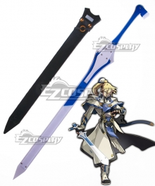 Guilty Gear Xrd SIGN Ky Kiske Sword Scabbard Cosplay Weapon Prop
