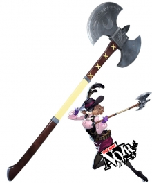 Persona 5 Noir Haru Okumura Axe Cosplay Weapon Prop