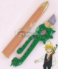 The Seven Deadly Sins Nanatsu no Taizai Meliodas Dragon's Sin of Wrath Sword Cosplay Weapon Prop - B