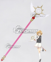 Cardcaptor Sakura: Clear Card Sakura Kinomoto Dream Wand New Edition Cosplay Weapon Prop