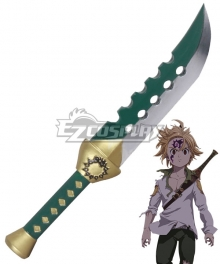 The Seven Deadly Sins: Revival of The Commandments Nanatsu no Taizai Season 2 Meliodas Sword Cosplay Weapon Prop