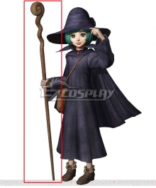 Berserk Schierke Staff Cosplay Weapon Prop