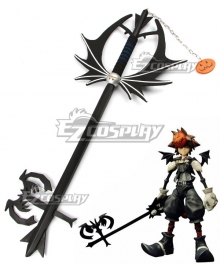 Kingdom Hearts 2 Halloween Town Sora Keyblade Cosplay Weapon Prop