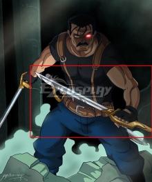 Fullmetal Alchemist King Bradley One Sword and Scabbard Cosplay Weapon Prop