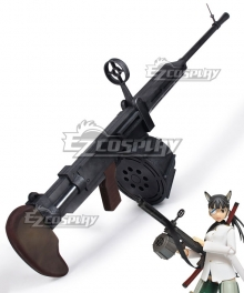 Strike Witches Mio Sakamoto Gun Cosplay Weapon Prop