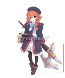 Princess Connect! Re:Dive Yuni Shingyoji Hatchet Cosplay Weapon Prop
