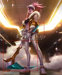 League Of Legends LOL KDA K/DA Akali Prestige Edition Scythe And Dagger Cosplay Weapon Prop