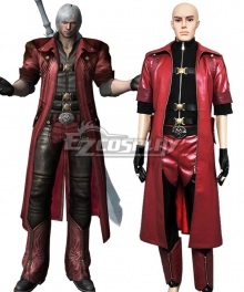 Devil May Cry 4 Dante Cosplay Costume - A Edition