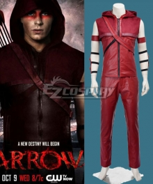DC Comics Arrow Roy Harper Cosplay Costume