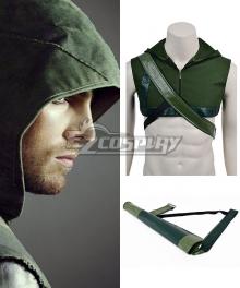 DC Comics Green Arrow Oliver Queen Cosplay Hood and Arrow Bag