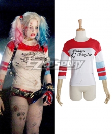 DC Comic Batman Harley Quinn Cosplay Costume Suicide Squad Daddy's Lil Monster Tee Shirt