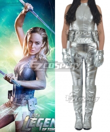 DC Comics Arrow Season 4 White Canary Sara Lance Cosplay Costume