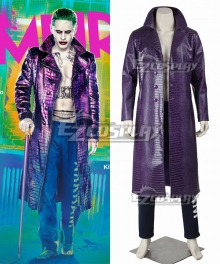 DC Detective Comics Batman Suicide Squad Task Force X Joker 2016 Movie Cosplay Costume