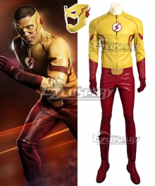 DC Detective Comics The Flash Season 3 Kid Flash Wallace Rudolph Wally West Cosplay Costume