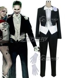 DC Batman Suicide Squad Task Force X Joker Swallowtail 2016 Movie Cosplay Costume