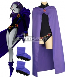DC Teen Titans Season Raven Pride Rachel Roth Cosplay Costume