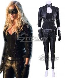 DC Comics Green Arrow Black Canary Dinah Laurel Lance Cosplay Costume - New Edition
