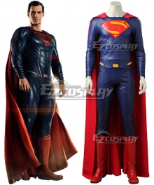 DC Justice League Movie Superman Kal-El Clark Kent Cosplay Costume