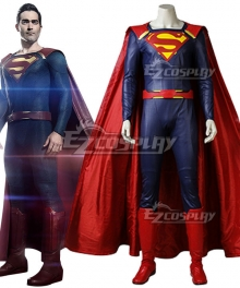 DC Supergirl Season 2 Superman Clark Kent Cosplay Costume