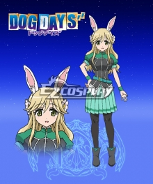 DOG DAYS'' Vert Far Breton Cosplay Costume