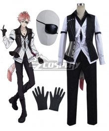 Diabolik Lovers More Blood Tsukinami Shin Cosplay Costume