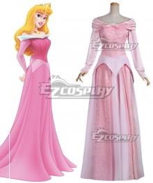 Disney Sleeping Beauty Aurora Princess Dress Cosplay Costume - A Edition