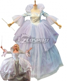 Disney Cinderella Movie Fairy Godmother Cosplay Costume
