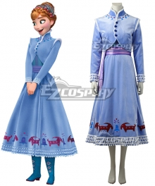 Disney Olaf's Frozen Adventure Anna Cosplay Costume