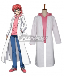Denpa Kyoushi Junichiro Kagami Cosplay Costume - Only Top and Trousers and Coat