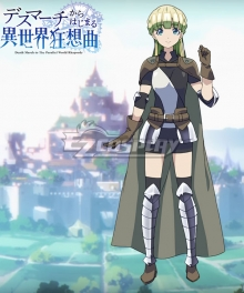 Death March to The Parallel World Rhapsody Death March kara Hajimaru Isekai Kyousoukyoku Zena Marientail Cosplay Costume