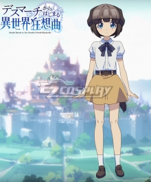 Death March to The Parallel World Rhapsody Death March kara Hajimaru Isekai Kyousoukyoku Pochi Cosplay Costume