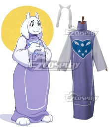 Undertale Boss Monster Toriel Cosplay Costume
