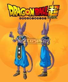 Dragon Ball Super Hakaishin Birusu Cosplay Costume