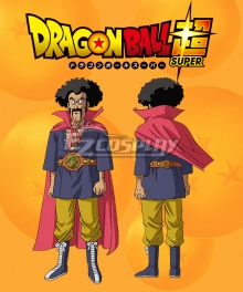 Dragon Ball Super Hercule Ring name Mark Cosplay Costume
