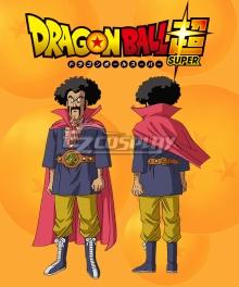 Dragon Ball Super Hercule Ring name Mark Cosplay Costume