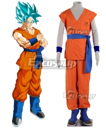 Dragon Ball Super Son Goku Kakarrot Cosplay Costume