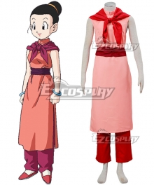 Dragon Ball Z Chi Chi Cosplay Costume - A Edition