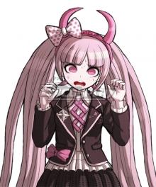 Danganronpa Kotoko Utsugi Cosplay Costume