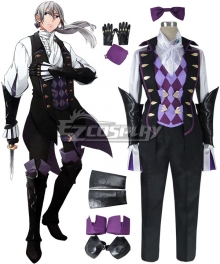 Fire Emblem Fates IF Jakob Cosplay Costume
