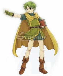 Fire Emblem Binding Blade Lugh Cosplay Costume