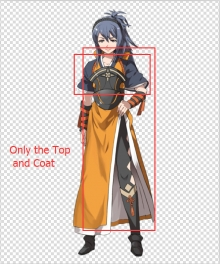 Fire Emblem Fates IF Oboro Cosplay Costume - Only the Orange Coat and the Top