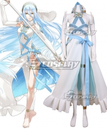Fire Emblem Heroes Azura White Dress Cosplay Costume