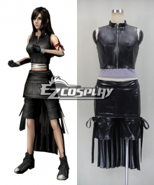 Final Fantasy VII Tifa Lockhart Cosplay Costume-Deluxe Ver.