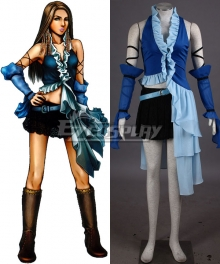 Final Fantasy X-2 Yuna Lenne Cosplay Costume