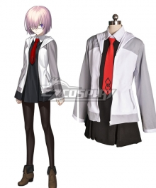 Fate Grand Order Mash Kyrielight Shielder Cosplay Costume