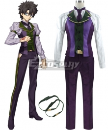 Fate Grand Order Male Master Atlas Academy Uniform Cosplay Costume